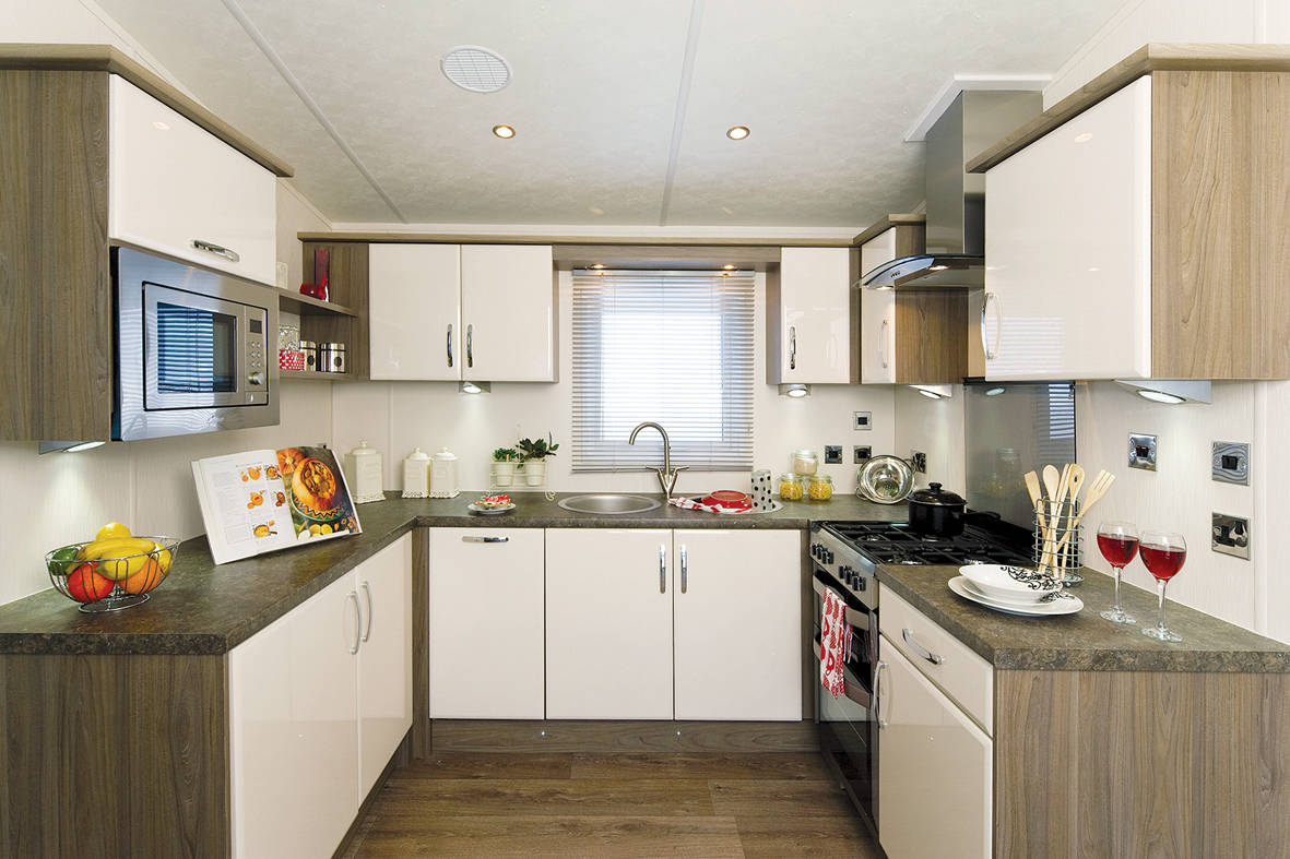 Delta Caravans Superior Caravan kitchen
