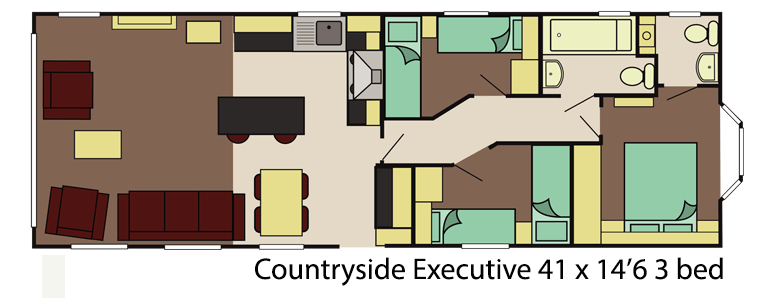 Delta countryside exec 3 bed layout